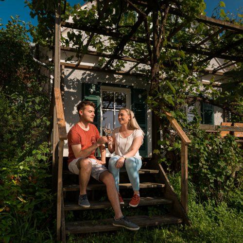 Die Sonnenterrasse: entspannen und wohlfühlen am Lindenhof